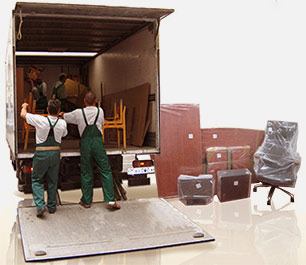 Office moving equipment, tools and vehicles